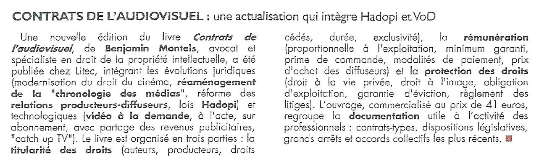contrats audiovisuels hadopi